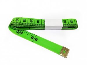 "TR-13G - 60"" Tailor's Tape Measure (Green)"