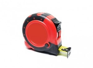 Series A1 - 12ft Steel Tape Measure (Red)