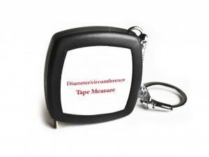 "DCT79 - 79"" / 2m Diameter Pi Steel OD Tape Measure"