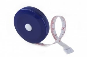 "SR1B - Flexible Pocket Tape Measure - 60"" / 1.5m (Blue)"