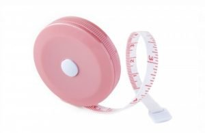 "SR1P - Flexible Pocket Tape Measure - 60"" / 1.5m (Pink)"