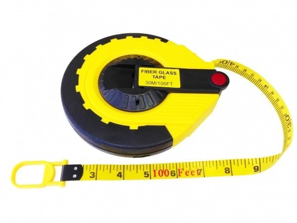 Inch Increments on Both Sides 60 inch Fiberglass Tape Measure