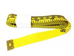 "TR-16 - 120"" Tailor's Tape Measure (Yellow)"