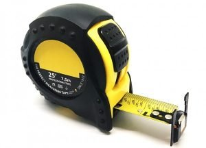 Series 100 - 25ft / 7.5m Professional Wide-Read Magnetic-Tipped Steel Tape Measure