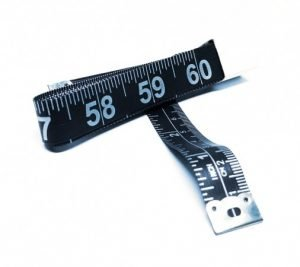 "TR-16BK - 60"" Tailor's Tape Measure (Black)"