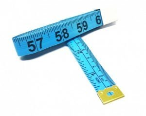 "TR-16B - 60"" Tailor's Tape Measure (Blue)"