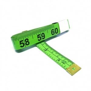 "TR-16G - 60"" Tailor's Tape Measure (Green)"