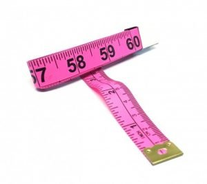 "TR-16P - 60"" Tailor's Tape Measure (Pink)"