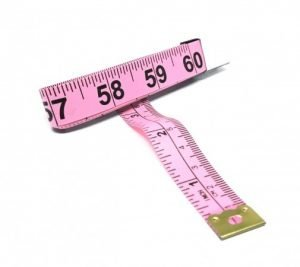 "TR-16LP - 60"" Tailor's Tape Measure (Light Pink)"