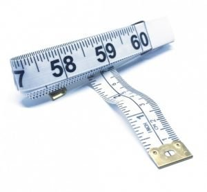 "TR-16W - 60"" Tailor's Tape Measure (White)"